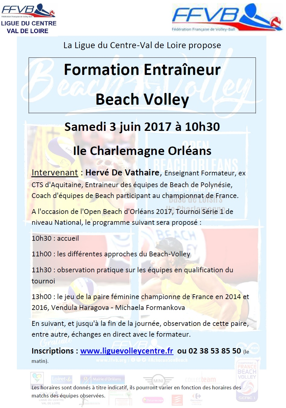 Formation Entraineur Beach-Volley