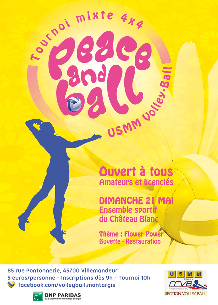 Tournoi Montargis PEACEBALL